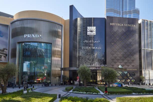 1200 boutiques luxe dubai mall centre commercial monde