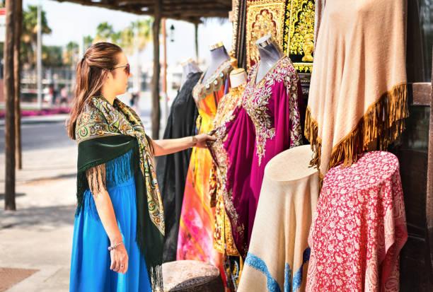 Marché du textile - Bur Dubai Souk mall commerces emirats