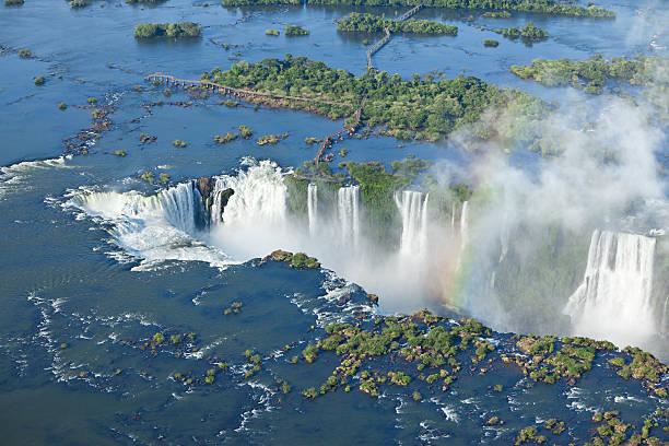 chute eau iguazu argentine bresil nature sauvage