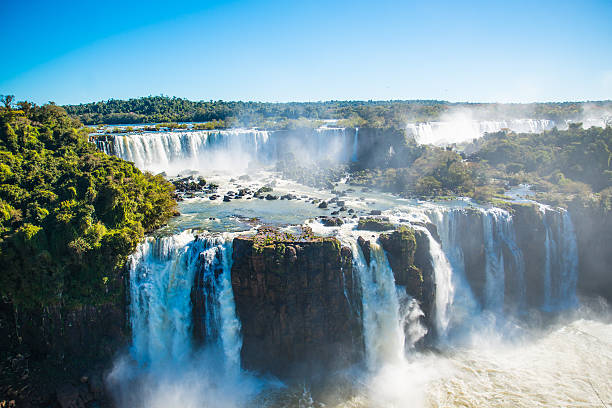 chute iguazu cascade parc naturel argentine bresil amerique latine