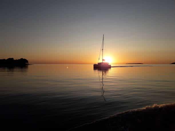 coucher soleil bateau la rochelle activités vacances à la rochelle