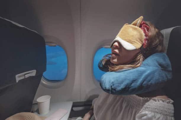 dormir dans avion long voyage avion