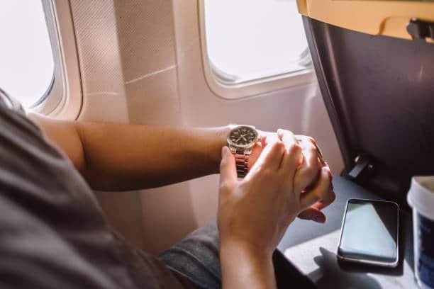 long voyage en avion heure occupation dormir