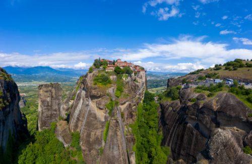 meteores grecs histoire visite monastere grece