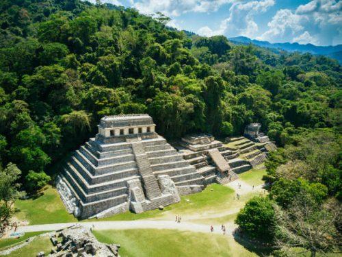 pyramides mayas et temples mexique