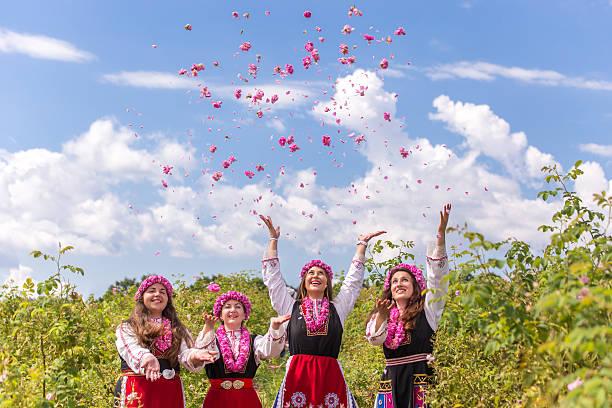 rose bulgarie folklore tradition bienfaits rose de damas