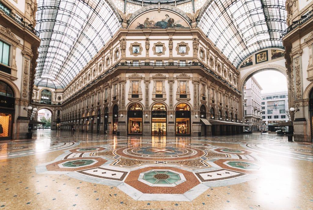 galerie vittorio emmanuele II milan lombardie italie