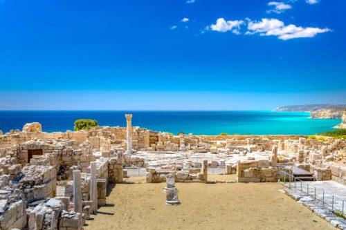 limassol ile chypre site archeologique kourion
