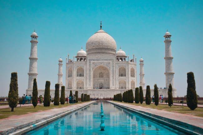 taj mahal palais empereur tombe inde agria région visite vacances